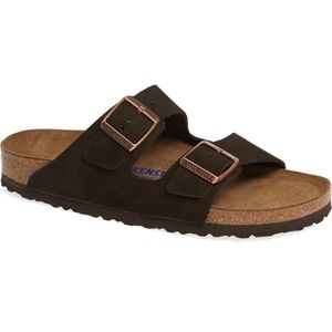 Birkenstock Arizona Soft Footbed Suede Sandal 40